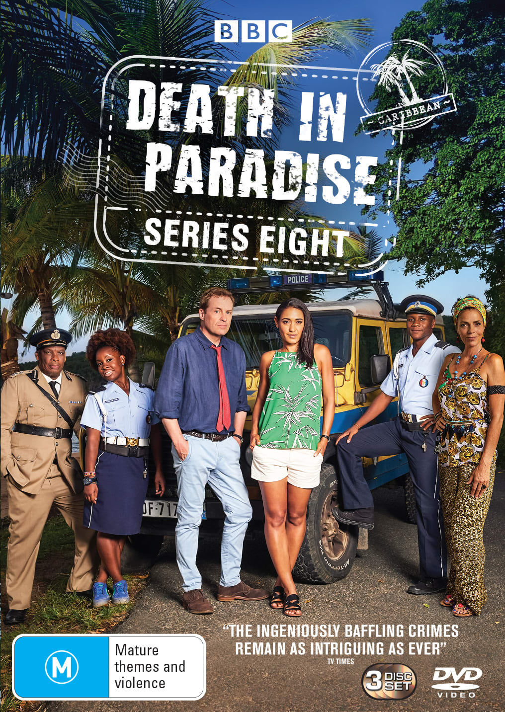 Death in Paradise: Series Eight (Box Set) [DVD]