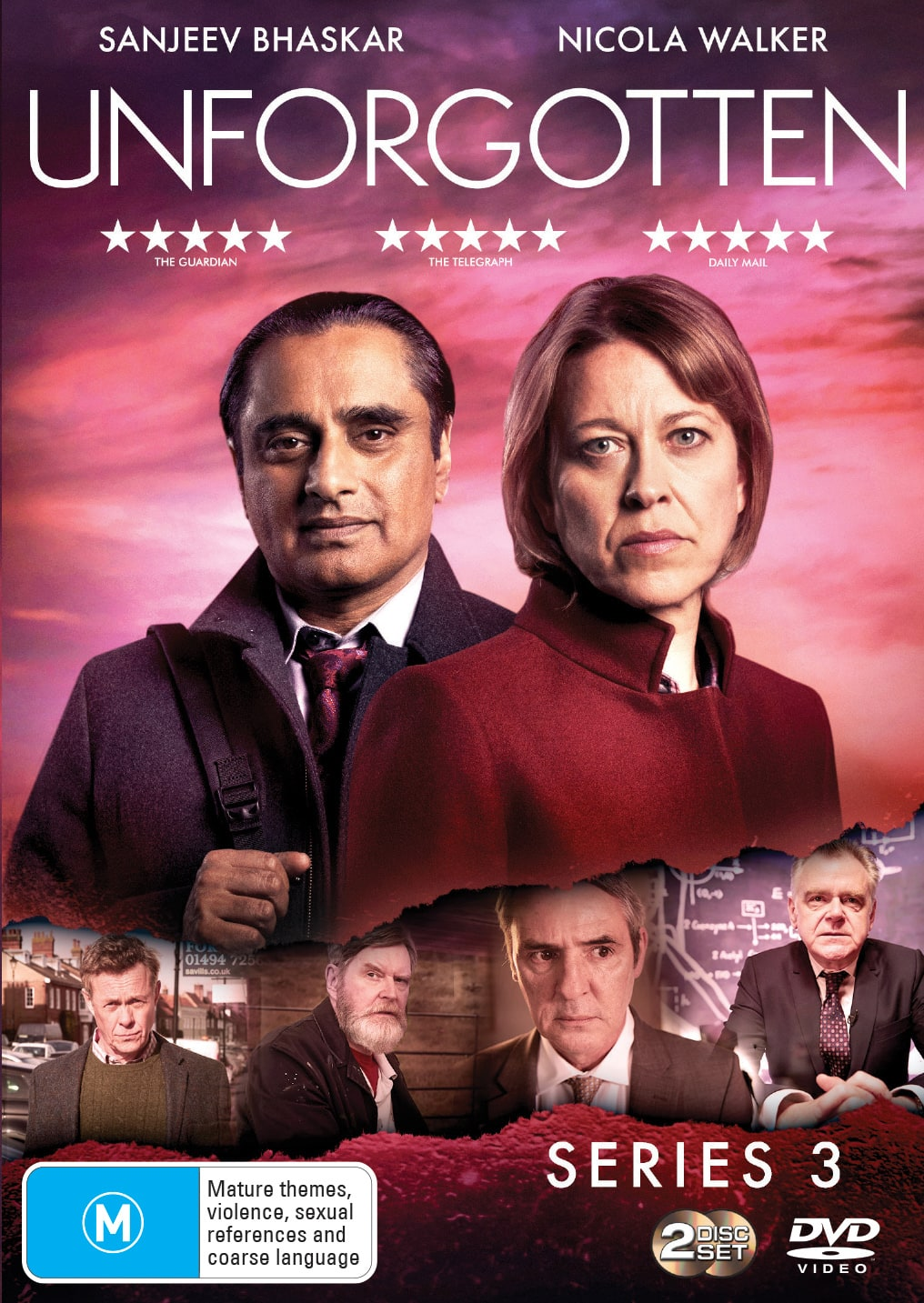 Unforgotten: Series 3 [DVD]