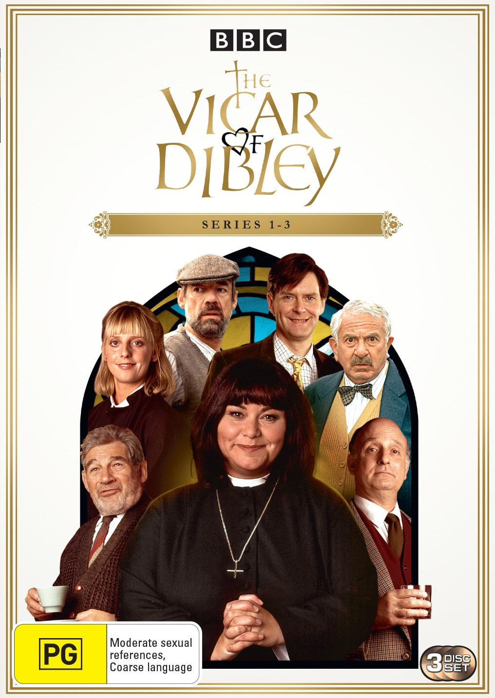 The Vicar of Dibley: Season 1 - 3 [DVD]