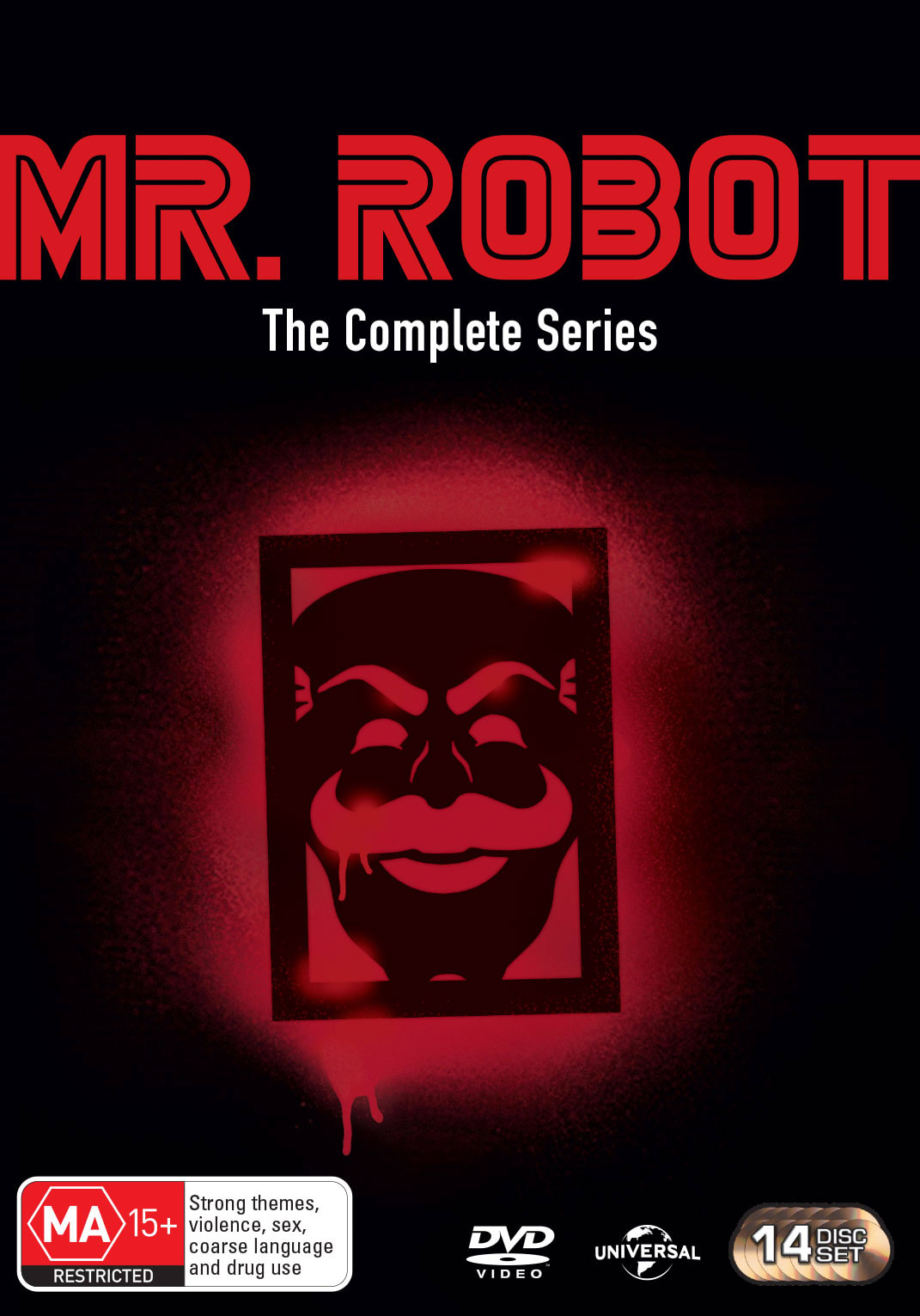 Mr. Robot: Season_1.0-4.0 (Box Set) [DVD]