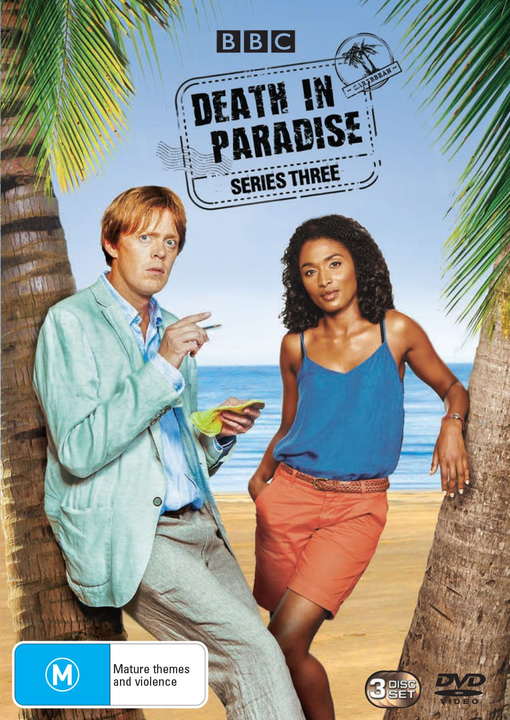 Death in Paradise: Series Three (Box Set) [DVD]