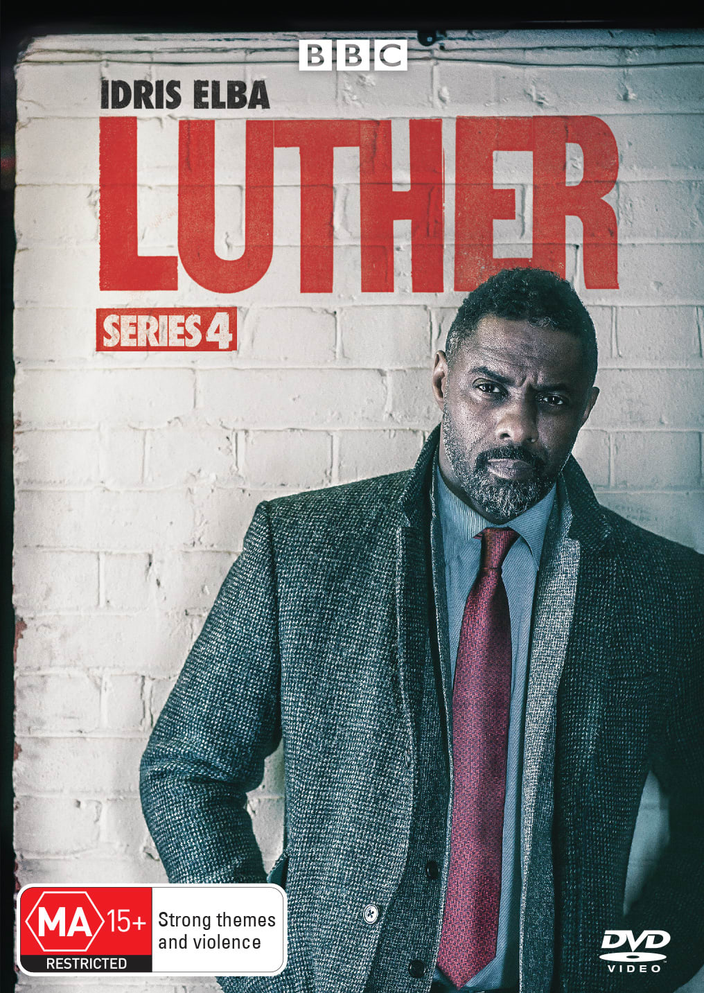 Luther: Series 4 [DVD]