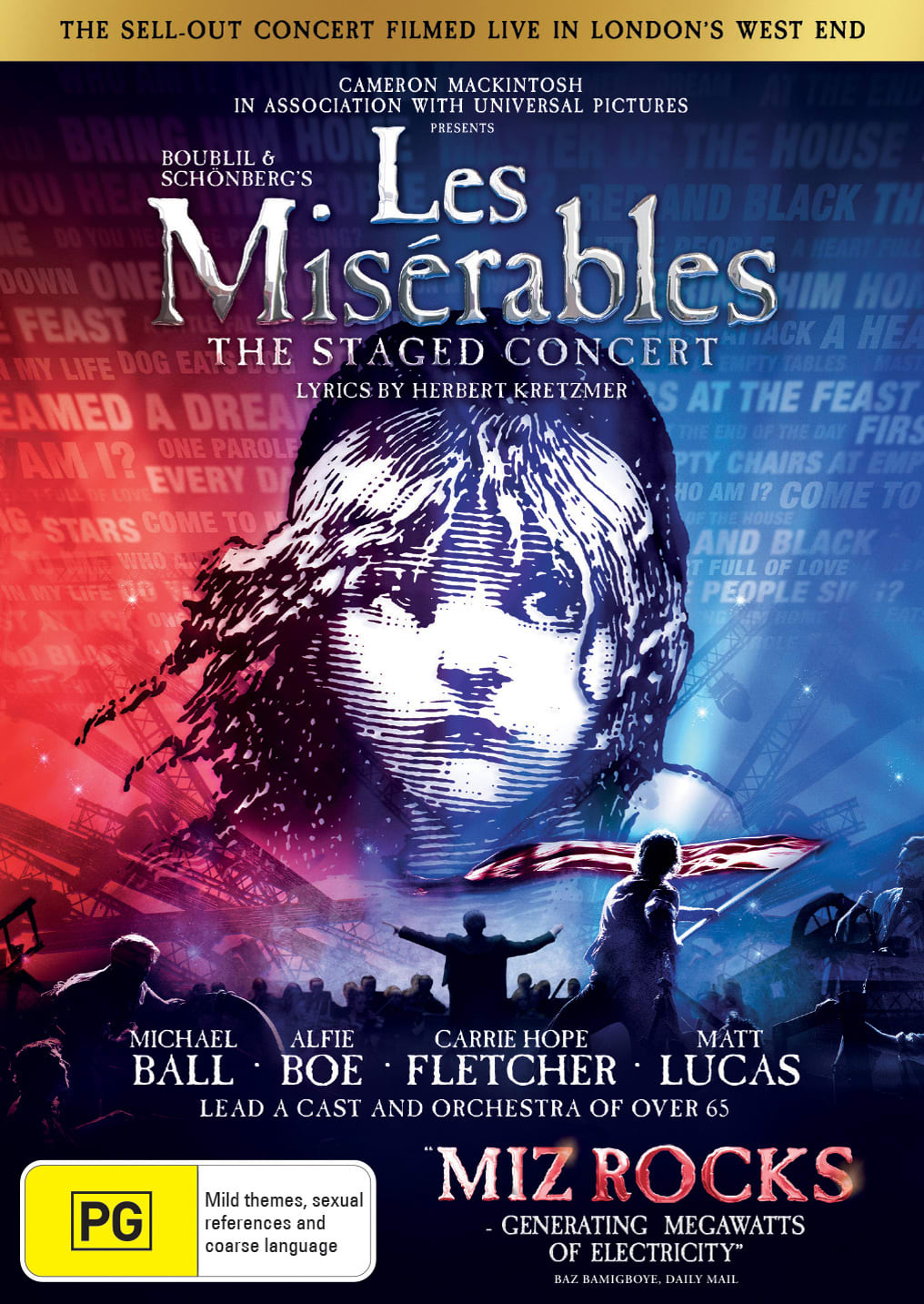 Les Misérables: The Staged Concert [DVD]