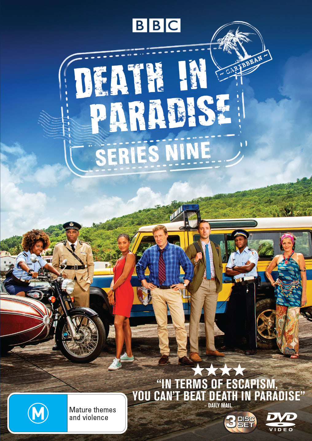 Death in Paradise: Series Nine (Box Set) [DVD]