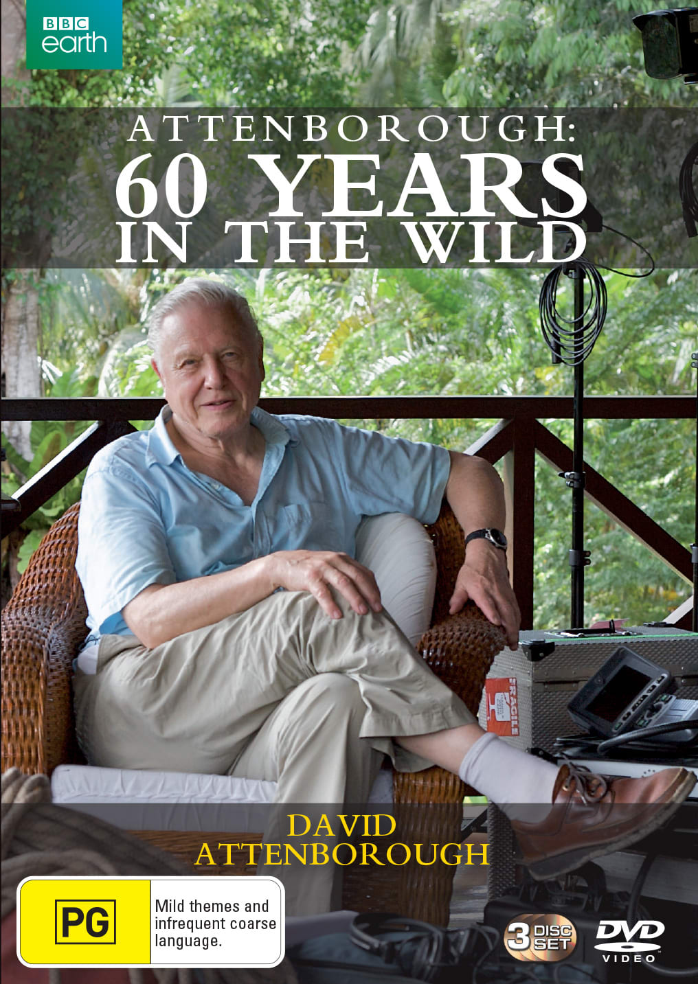 Attenborough: Sixty Years in the Wild (Box Set) [DVD]