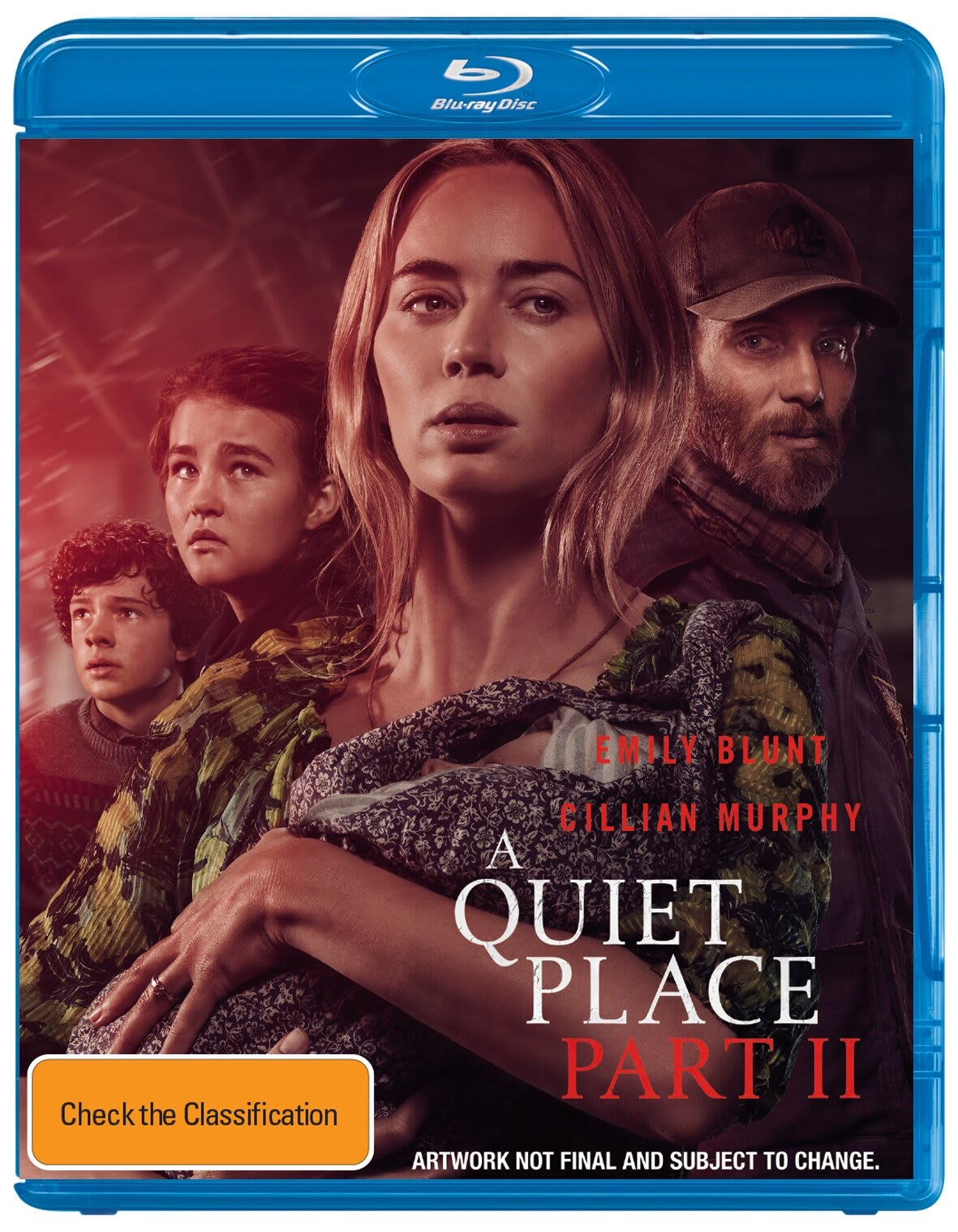 A Quiet Place: Part II [Blu-ray]