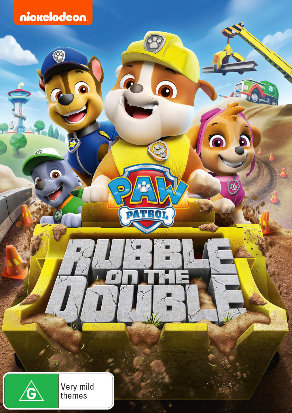 Paw Patrol: Rubble On the Double! [DVD]