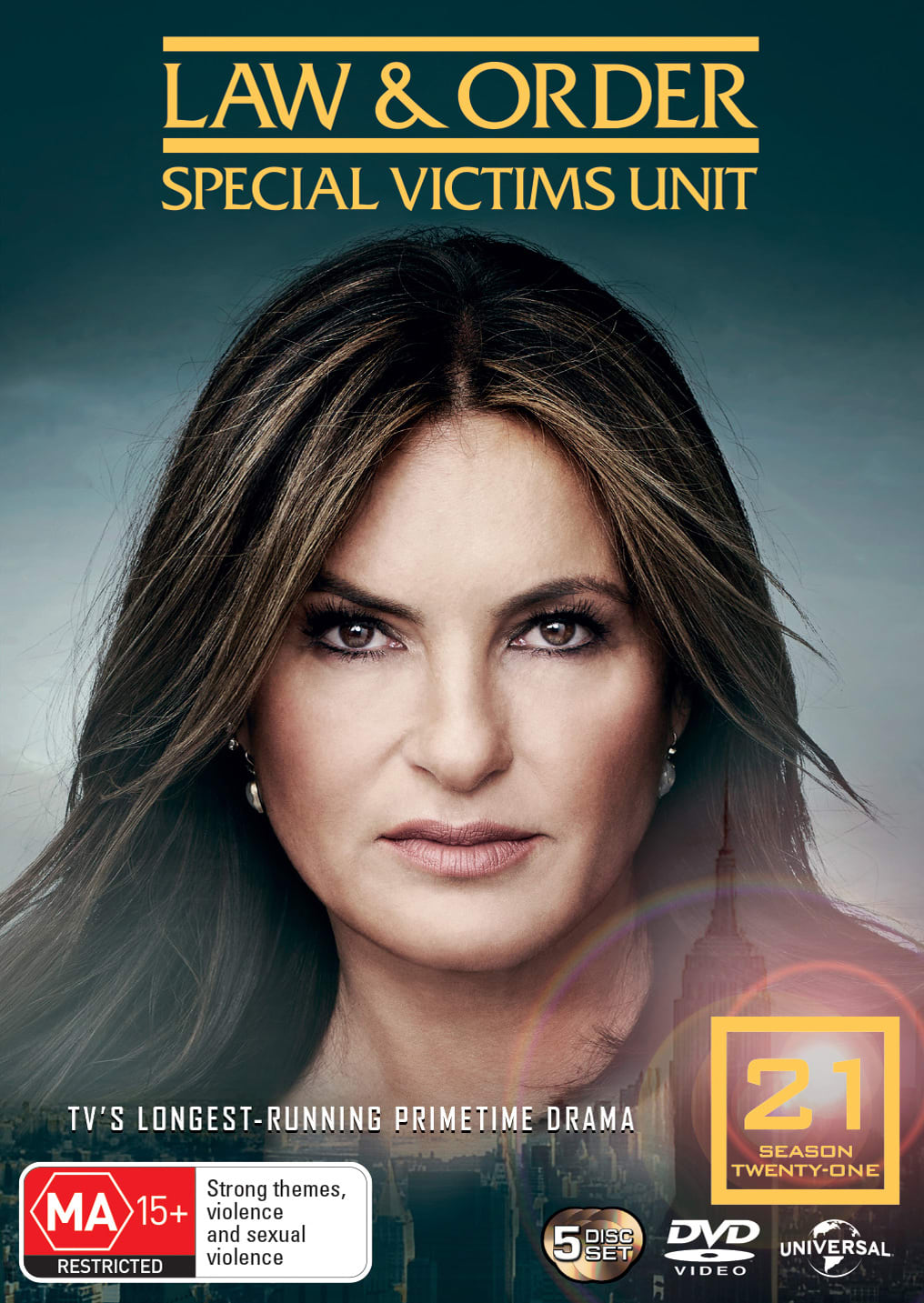 Law and Order - Special Victims Unit: Season 21 (Box Set) [DVD]