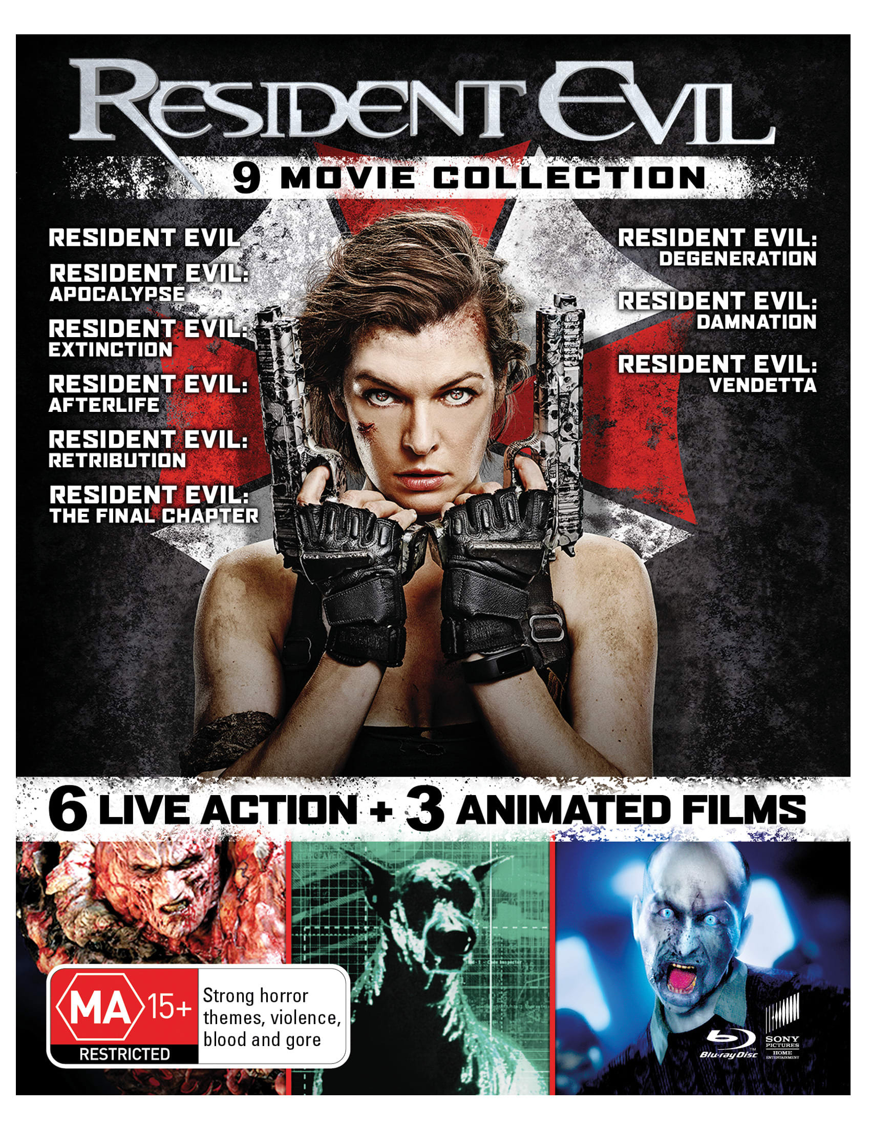 Resident Evil: The Complete Collection (Box Set) [Blu-ray]