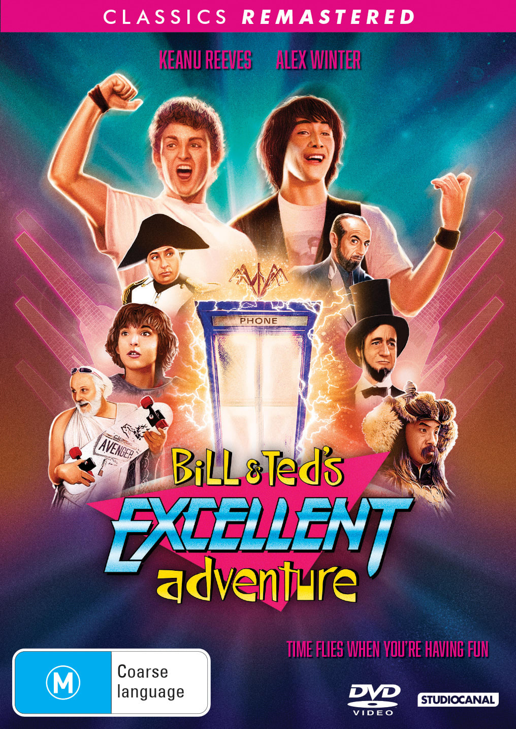 Classics Remastered - Bill & Ted's Excellent Adventure [DVD]