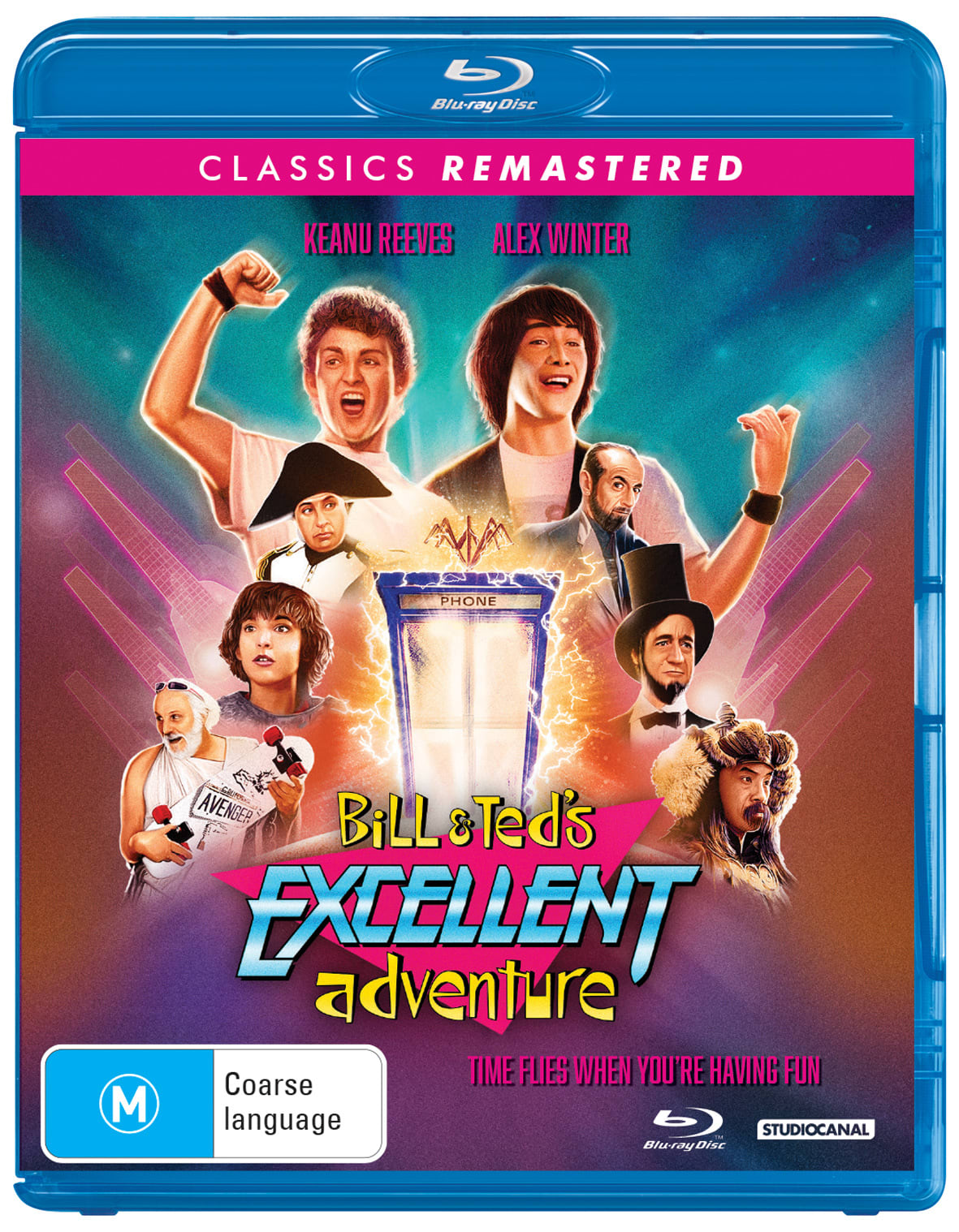 Classics Remastered - Bill & Ted's Excellent Adventure [Blu-ray]