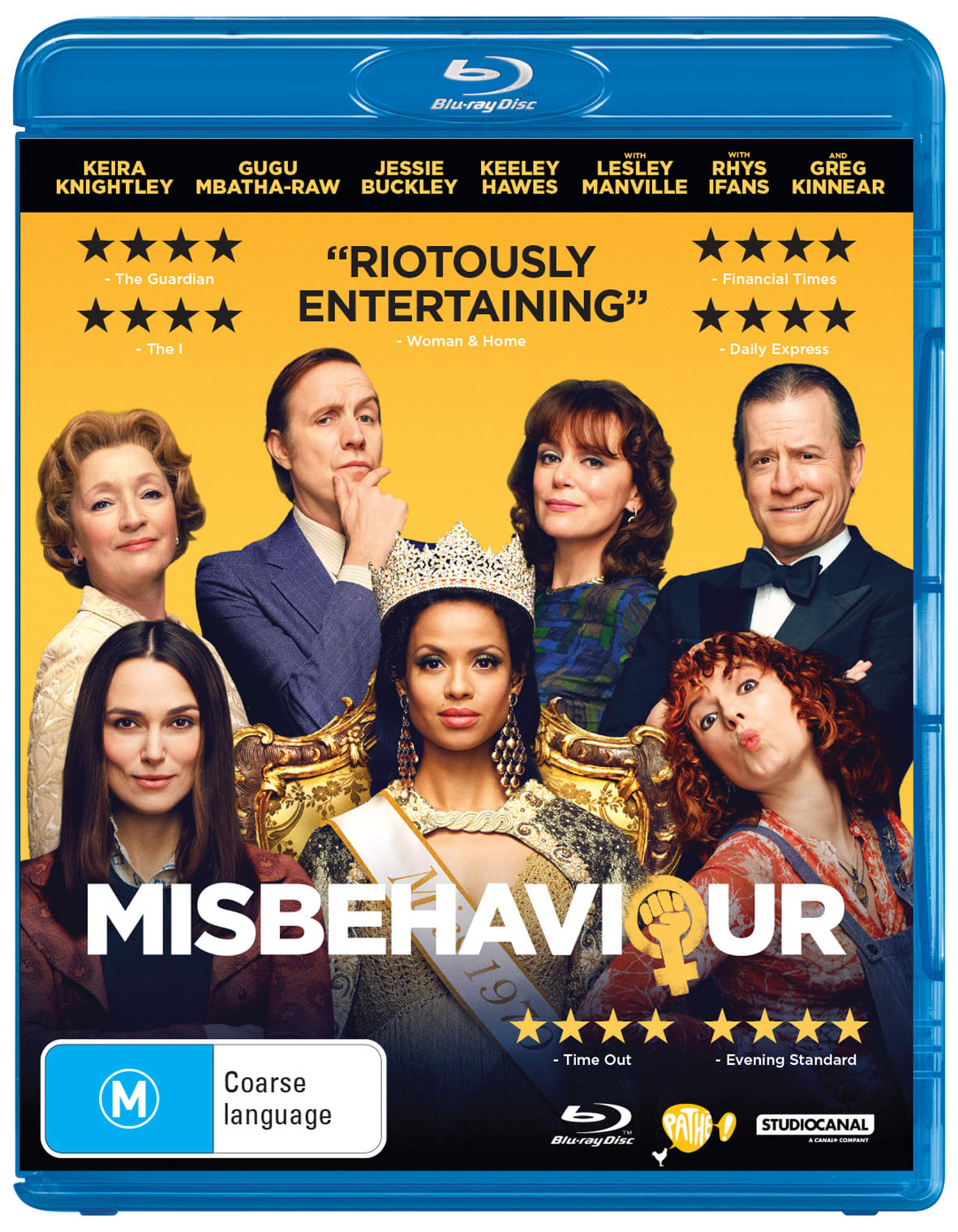 Misbehaviour [Blu-ray]
