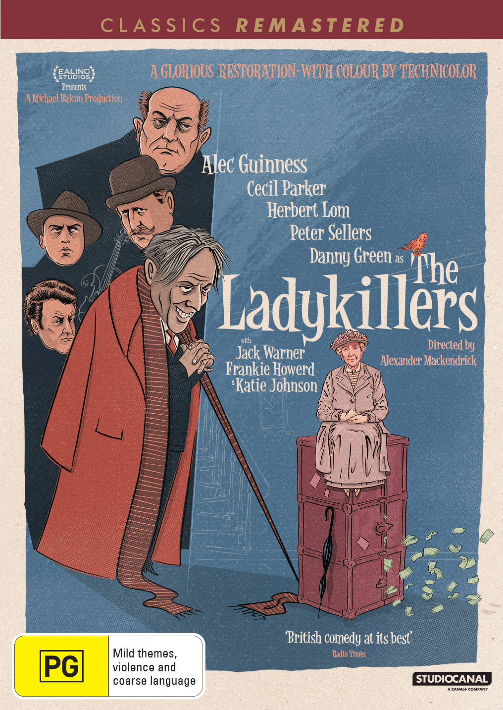 The Ladykillers [DVD]