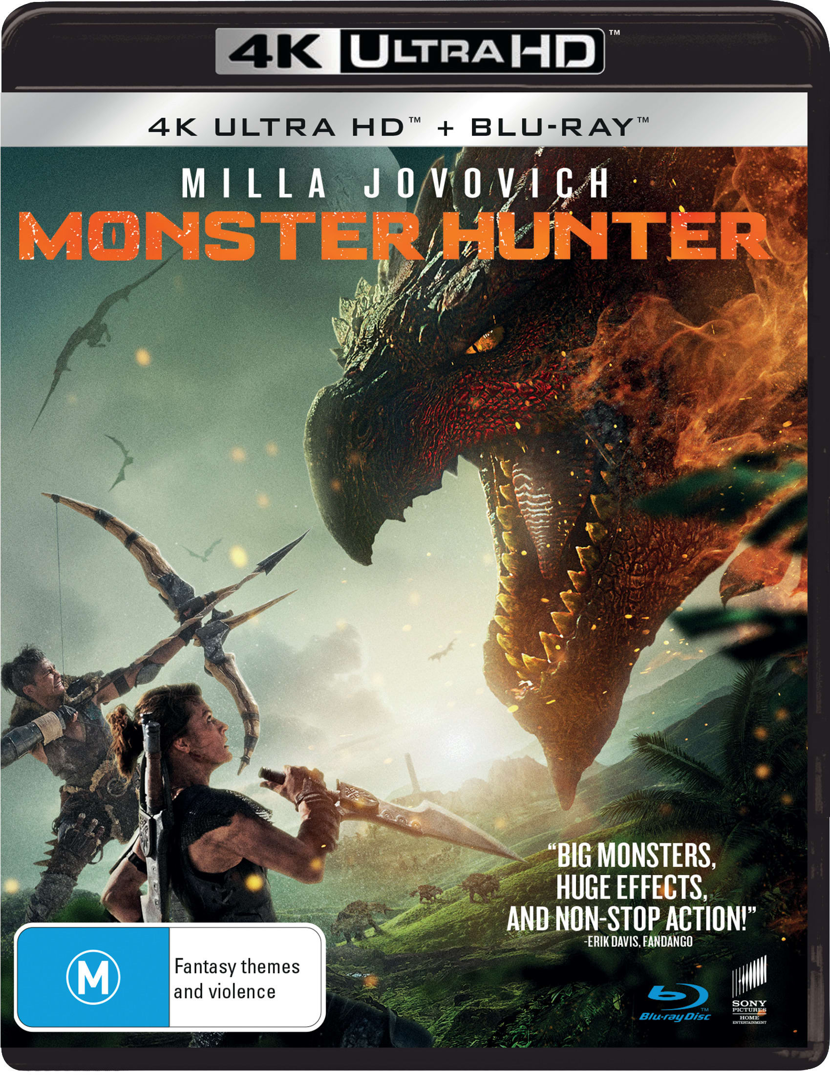 Monster Hunter (4K Ultra HD + Blu-ray) [UHD]