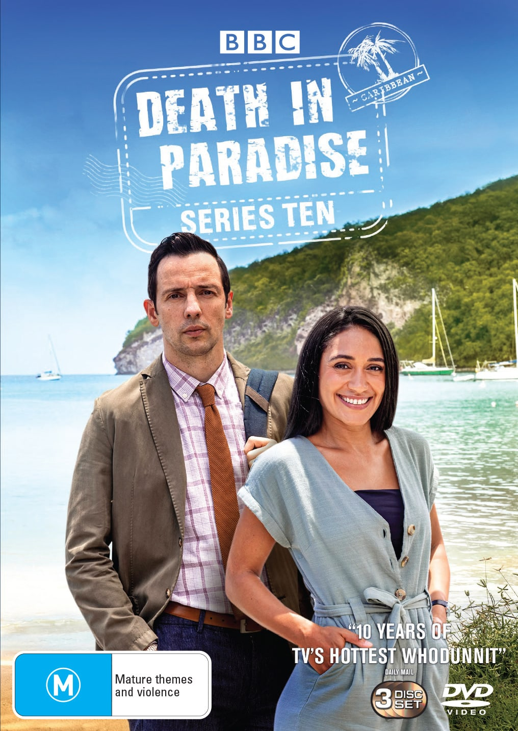 Death in Paradise: Series Ten (Box Set) [DVD]