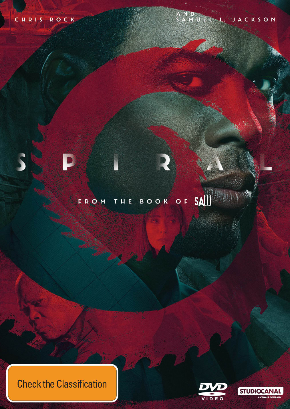 Spiral - From the Book of Saw [DVD]