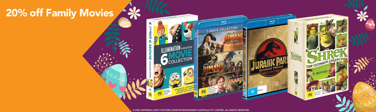 20 Off Family Movies