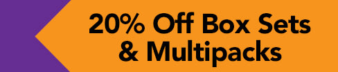 20% Off Box Sets & Multipacks Top
