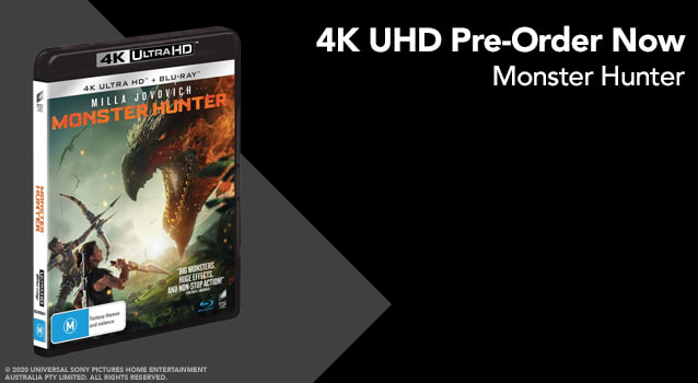 Monster Hunter - Pre Order 4K Half