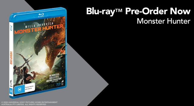 Monster Hunter - Pre Order BD Half