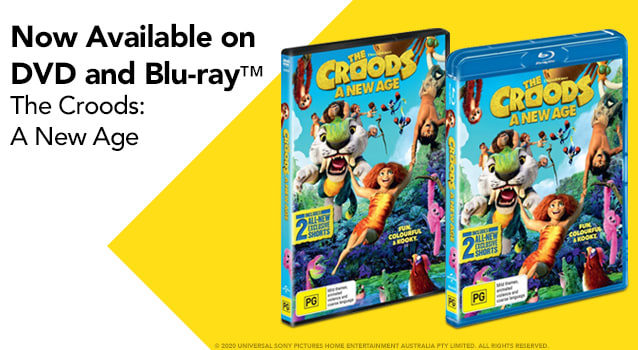 The Croods A New Age - Half Size