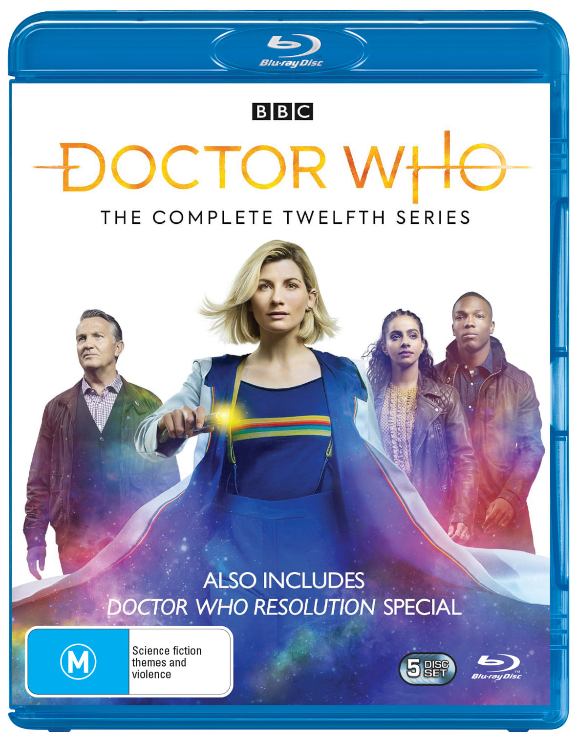 Doctor Who: The Complete Twelfth Series (Box Set) [Blu-ray]