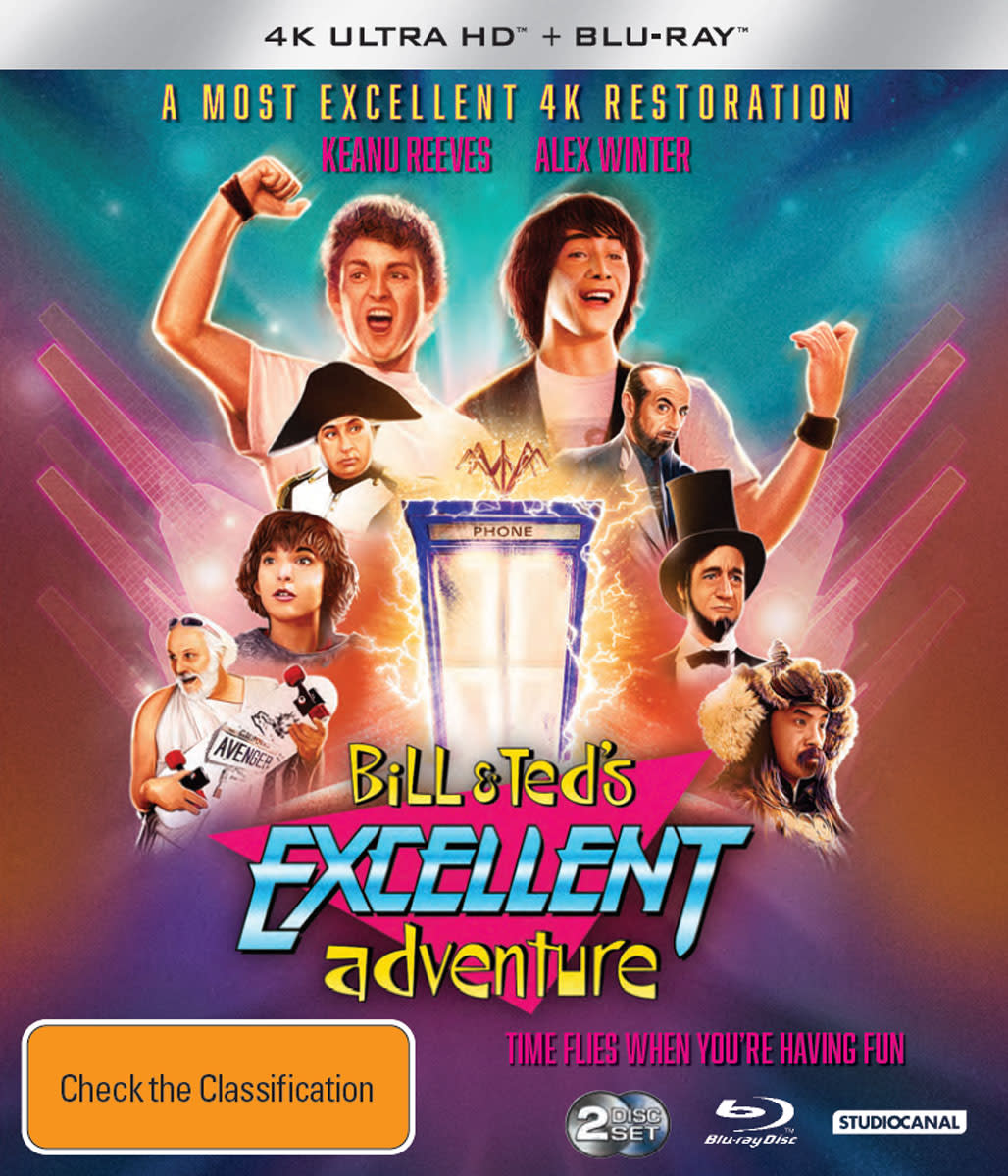 Classics Remastered - Bill & Ted's Excellent Adventure (4K Ultra HD + Blu-ray) [UHD]