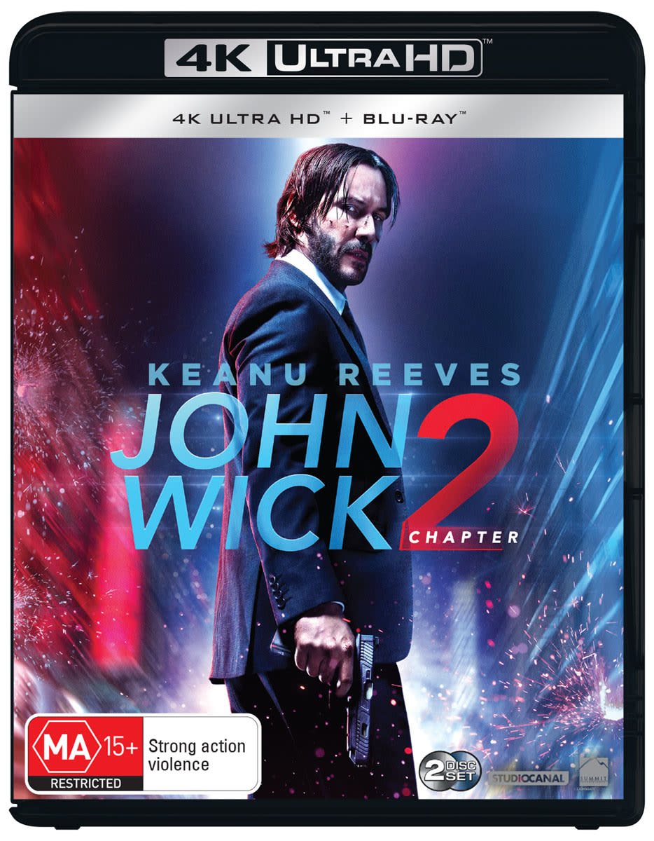 John Wick: Chapter 2 (4K Ultra HD + Blu-ray) [UHD]