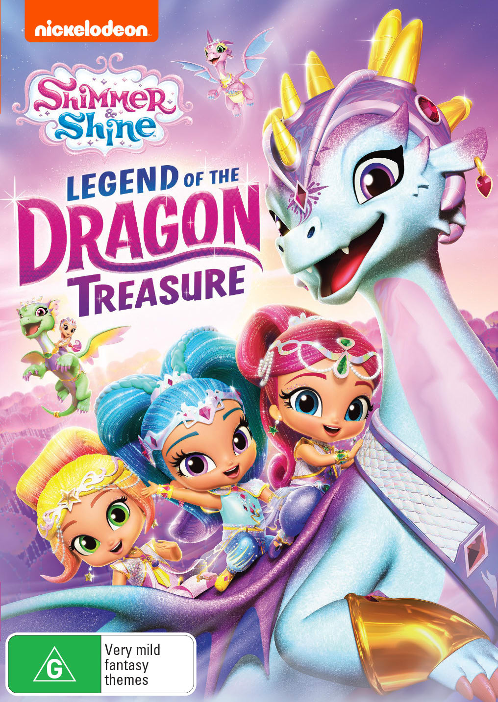 Shimmer and Shine: Legend of the Dragon Treasure [DVD]