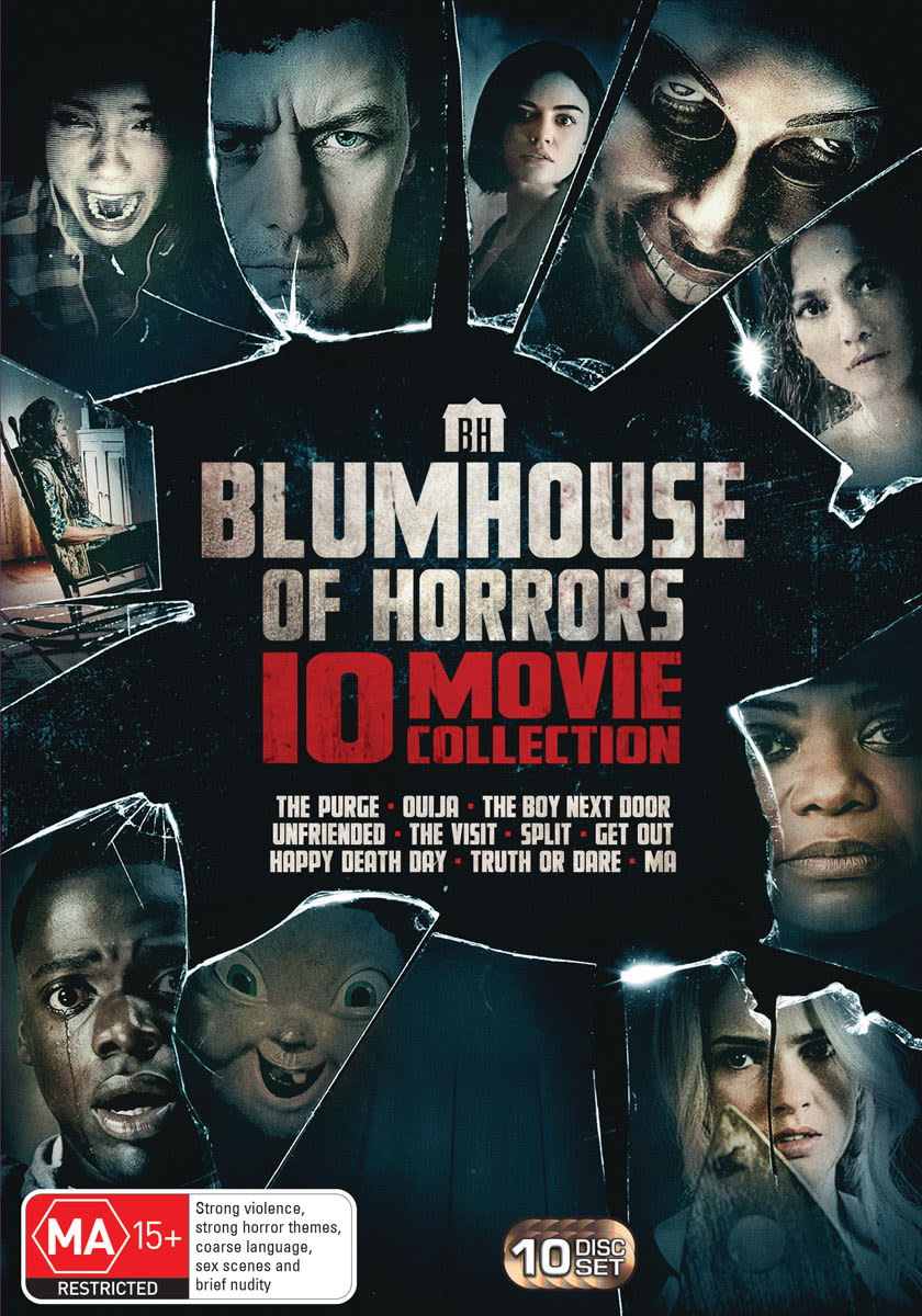 Blumhouse of Horrors 10 Movie Collection [DVD]