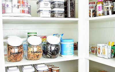 A Busy Mom's Pantry Transformation