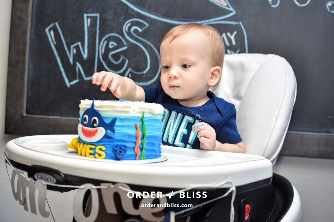 Wes' Baby Shark Birthday Bash