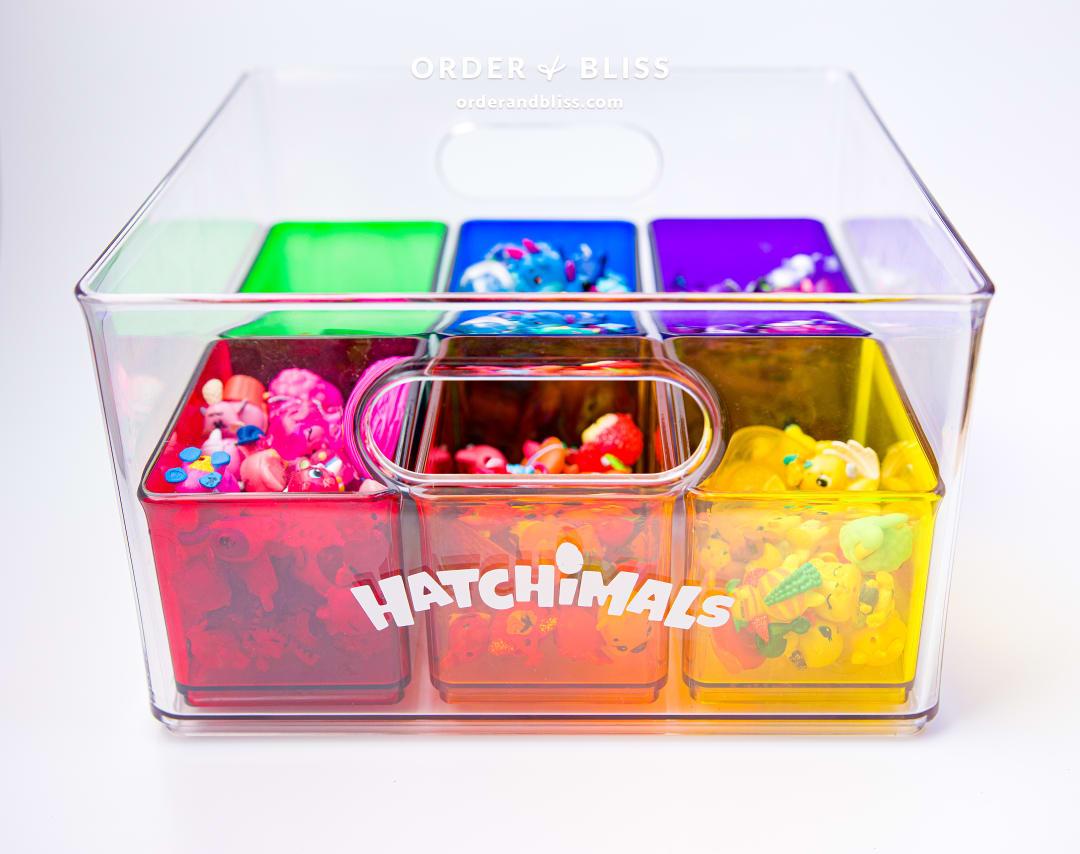 Hatchimals rainbow storage