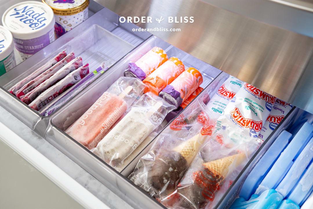 Fridge freezer organization