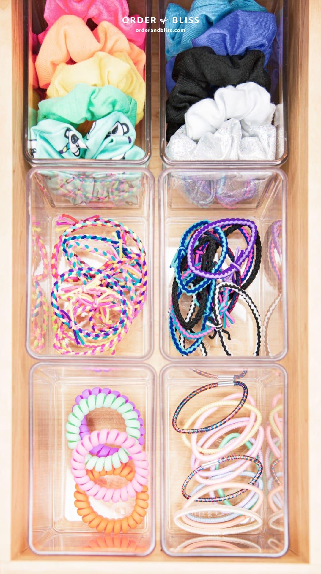 hair accessories organizer