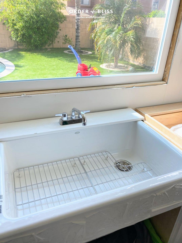 "Kohler whitehaven 36"" kitchen sink"