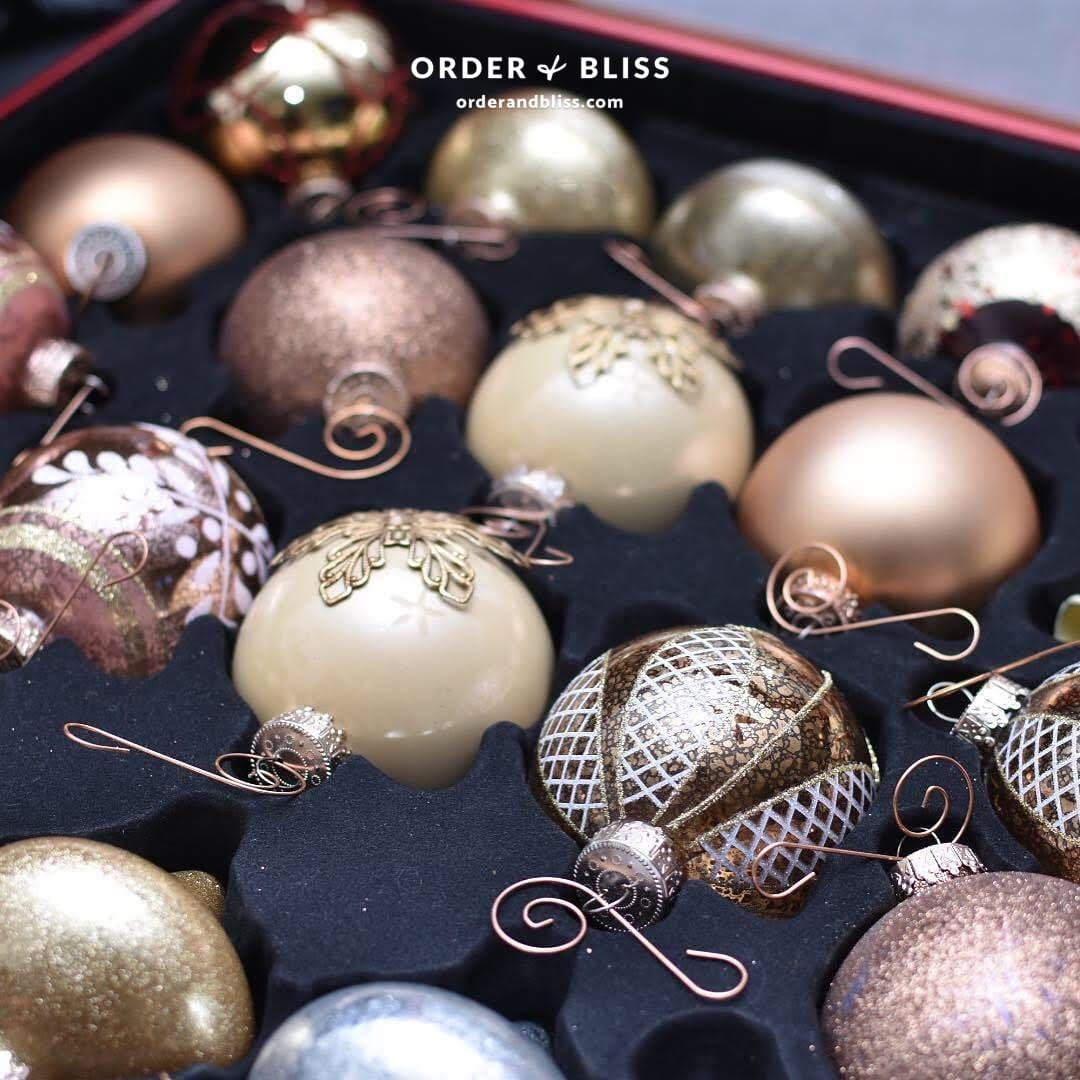 Christmas ornament storage case