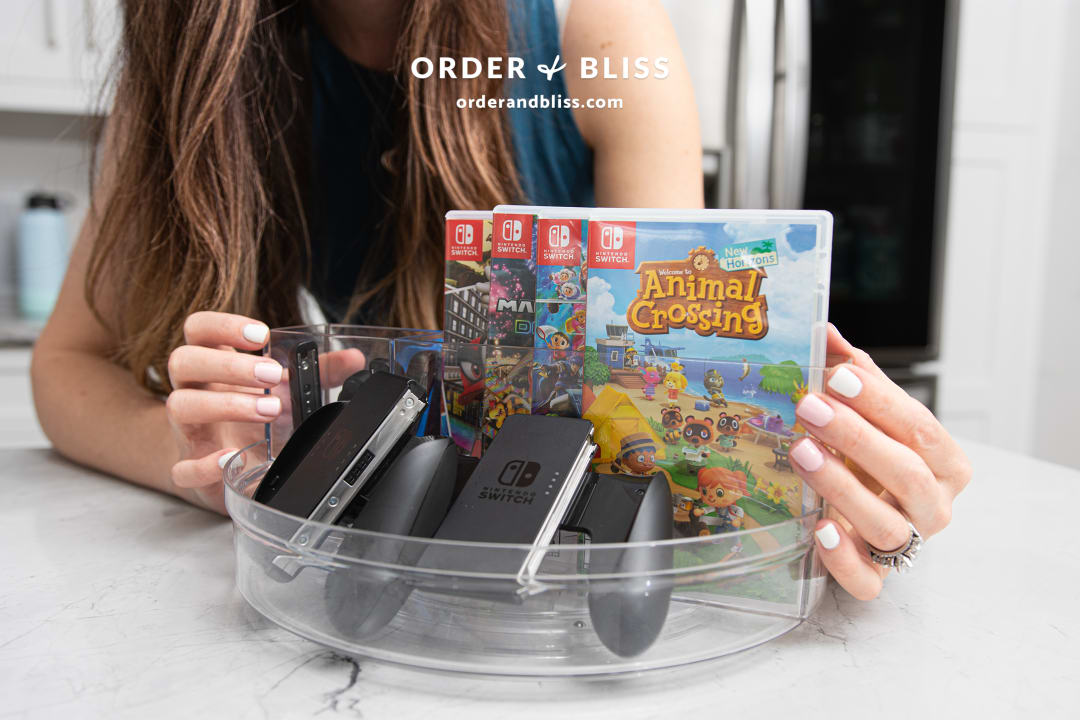 Clear Turntable Lazy Susan Storing Animal Crossing New Horizons