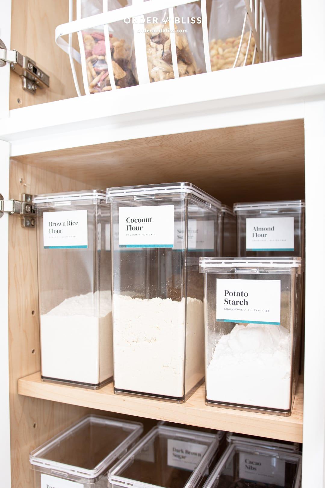 Custom pantry cabinets