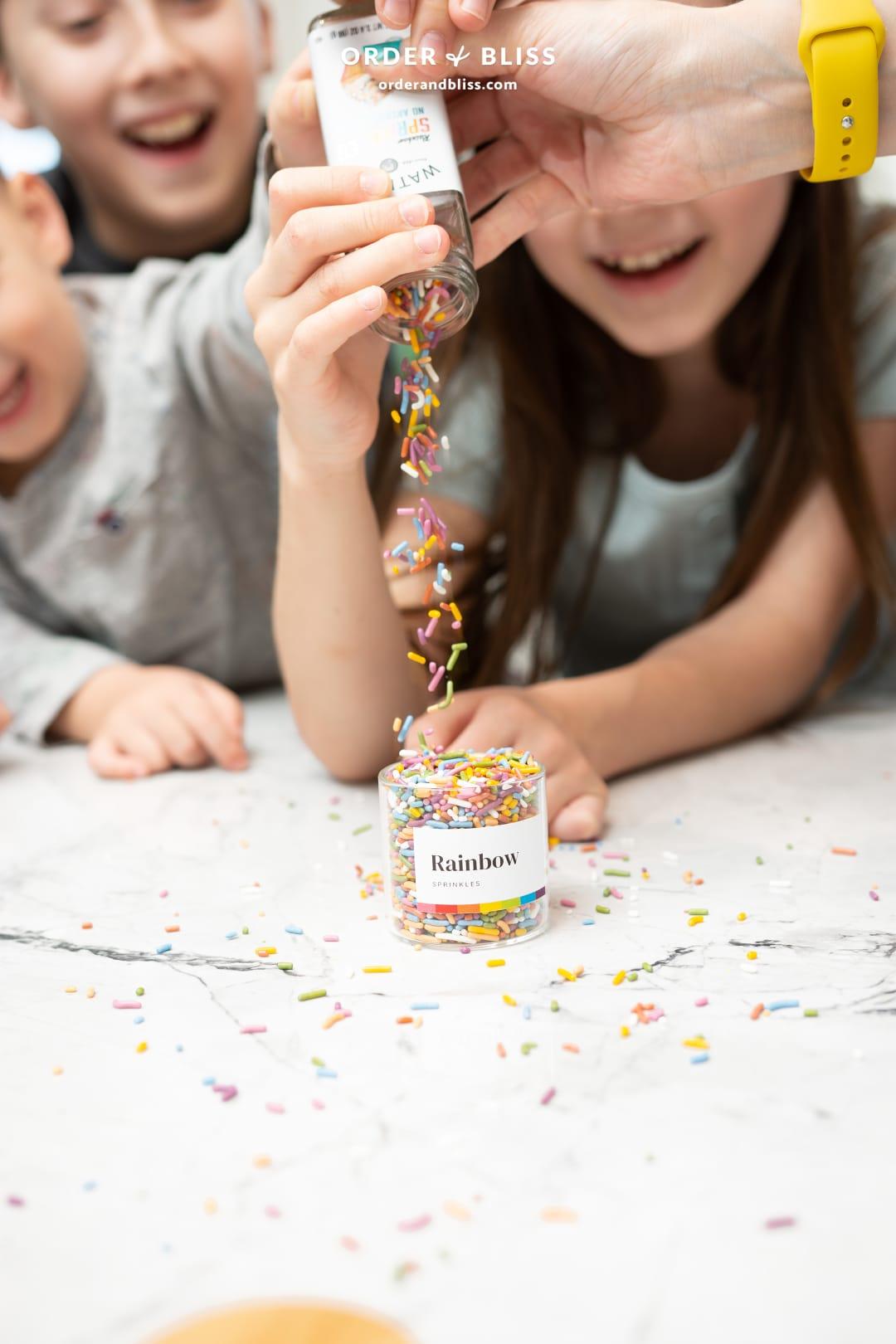 Watkins gluten free rainbow cupcake sprinkles