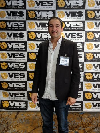 Habib at the Visual Effects Society (VES) Summit.