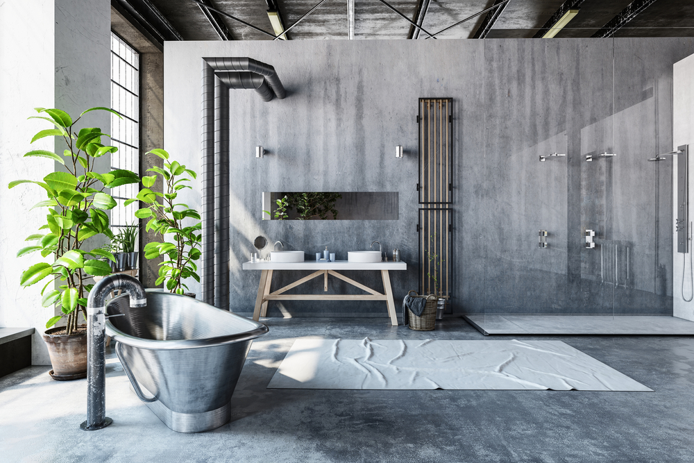 entreprise-renovation-boulogne-billancourt-salle-de-bain-industrielle-grise