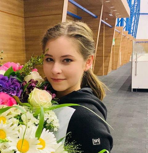 Юлия Липницкая родила дочь
