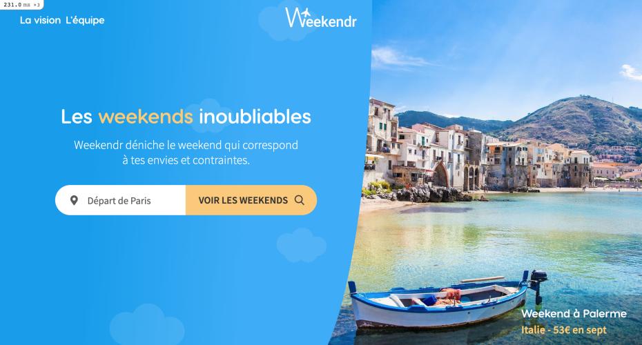 Trouve où et quand partir en weekend selon tes envies 🚅 ✈️ 🛌