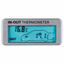 Lampa 86316 - Termometro interno/esterno 12/24V,...