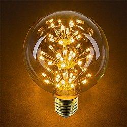 4 Pack Vintage Illuminazione, VSOAIR LED con 3W...