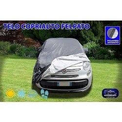 Telo copriauto per Fiat 500 L copri auto felpato...