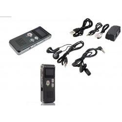 REGISTRATORE AUDIO VOCALE PORTATILE MP3 USB...