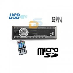 AUTORADIO FM STEREO AUTO LETTORE MP3 USB SD CARD...