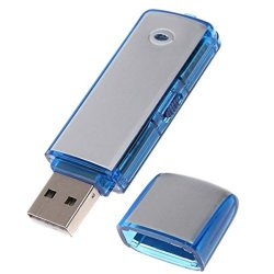 PEN DRIVE REGISTRATORE VOCALE USB 8GB MINI AUDIO...
